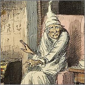 Ebeneezer Scrooge via Wikipedia https://en.wikipedia.org/wiki/Ebenezer_Scrooge [Public Domain - Copyright Expired]