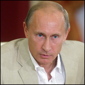 Vladimir Putin by Kremlin.ru [CC BY 3.0 (http://creativecommons.org/licenses/by/3.0)] via https://commons.wikimedia.org/wiki/File%3AVladimir_Putin_12019.jpg [cropped]