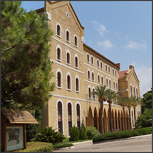 AUB - College Hall by marviikad [CC-BY-SA-2.0 (http://creativecommons.org/licenses/by-sa/2.0)], via Flickr https://flic.kr/p/fLntMv [cropped]