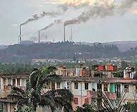 Moa Region of Cuba