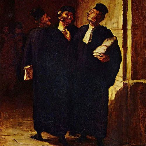 Daumier Lawyers [Public Domain]