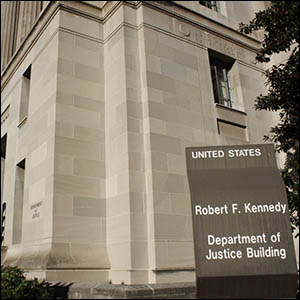 Department of Justice by Ryan J. Reilly [CC-BY-SA-2.0 (http://creativecommons.org/licenses/by-sa/2.0)], via Flickr https://flic.kr/p/76Kjf9 [cropped]