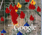 Google Earth Crisis in Darfur Project
