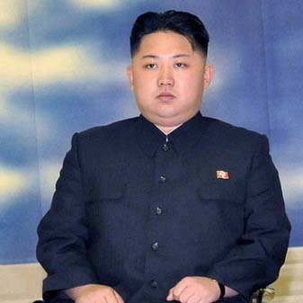Kim Jong Un Official Photo Source: Korean Central News Agency [fair use]