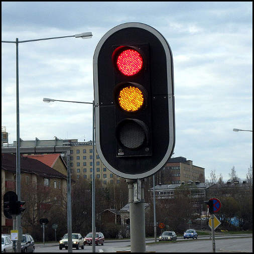 LED Traffic Lights http://commons.wikimedia.org/wiki/File:Led_traffic_lights.jpg [Public Domain]
