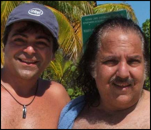 Touraj Ghavidel and Ron Jeremy via Ghavidel's Twitter Feed https://twitter.com/MrTouraj [Fair Use]