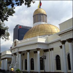 Venezuela Capitol Building by Márcio Cabral de Moura via https://www.flickr.com/photos/mcdemoura/2316759071/ [CC-BY-2.0 (http://creativecommons.org/licenses/by/2.0)]