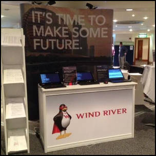 Wind River Convention Booth via https://twitter.com/WindRiver/media [Fair Use]